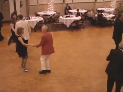 The ACCA Grand Ballroom Dance Floor.