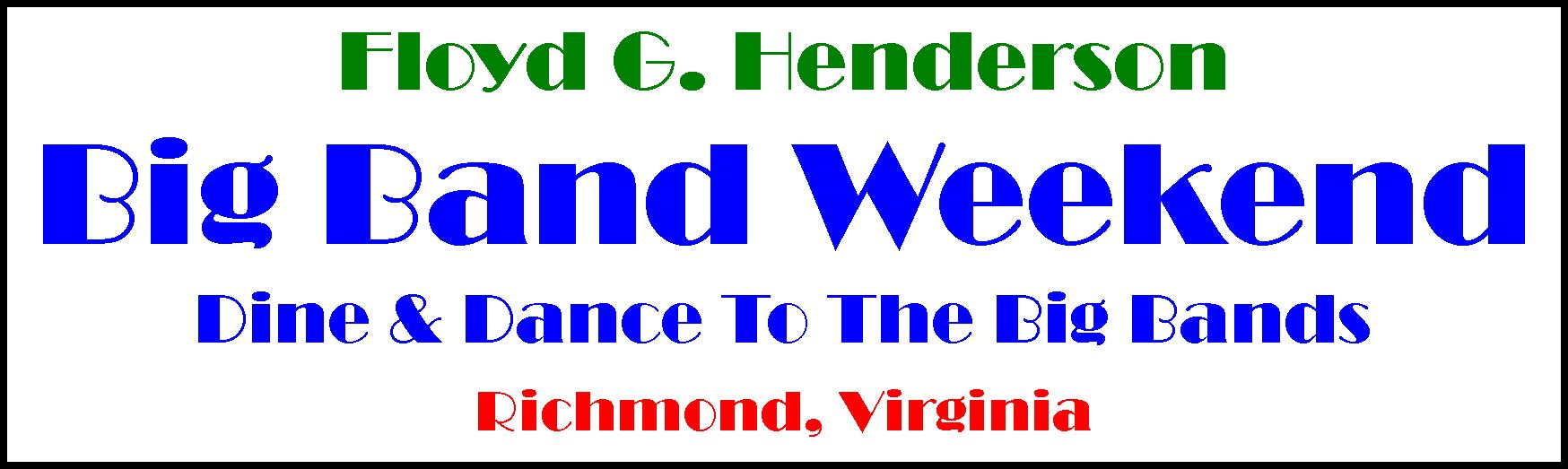 Richmond, Virginia RVA Big Band Swing Weekend 2022
